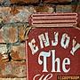 【BIgBoyRoom】工業風家具 美式復古 鄉村罐狀壁掛 W175 LOFT復古陳列
