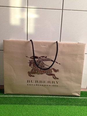 BURBERRY 二手可提式紙袋