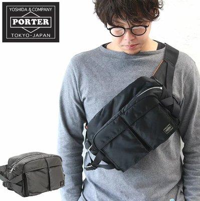 《FOS》日本製 PORTER TANKER 腰包 郵差包 大容量 平板 2019新款 側背包 出國 時尚 雜誌款 限量