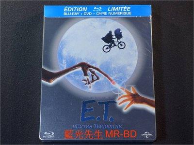 [藍光BD] - ET外星人 E.T. The Extra-Terrestrial BD + DVD 限量雙碟鐵盒版