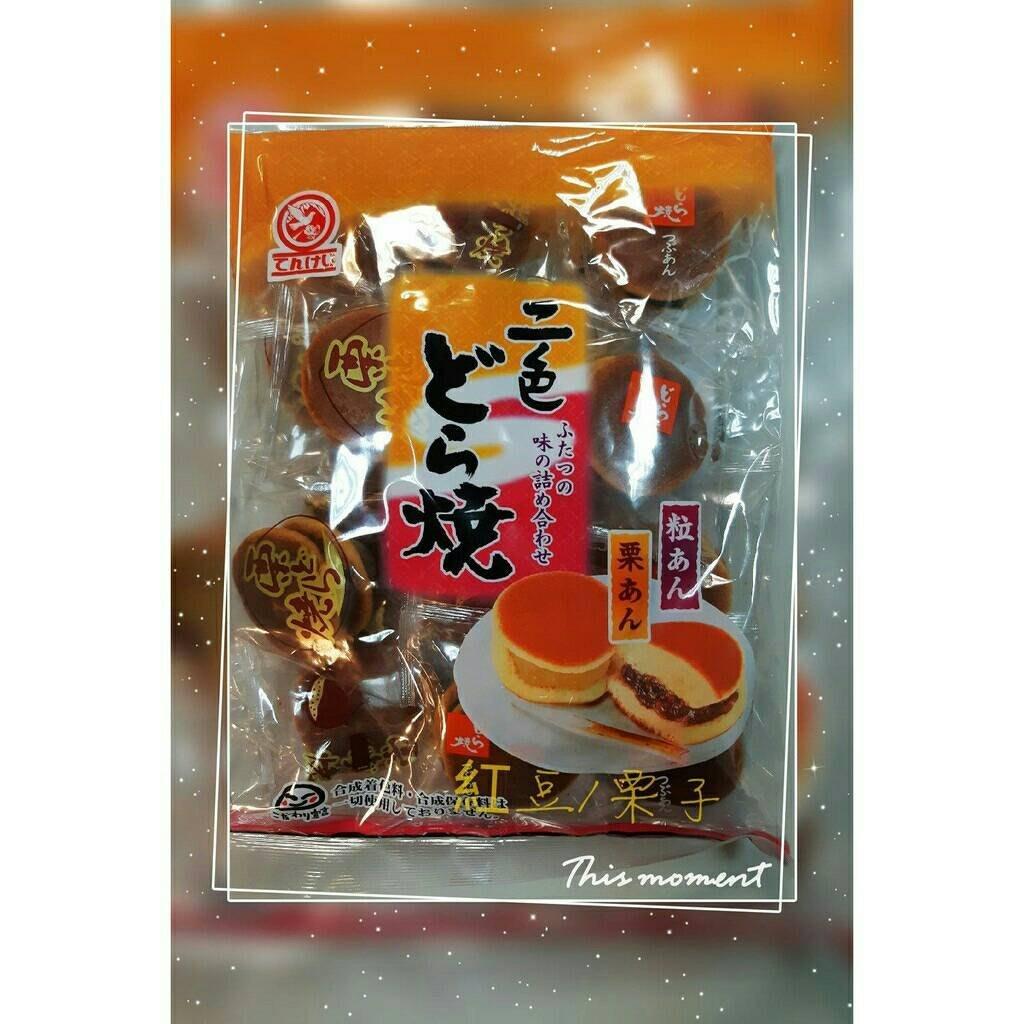 天惠 豆沙&栗子 銅鑼燒265g