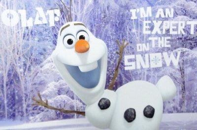 【UNIPRO】迪士尼 冰雪奇緣 FROZEN 雪寶 野餐墊 薄毯 小被毯 BABY毯 毯子