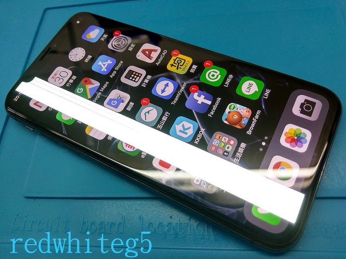 *電玩小屋* iphoneX 維修 iPHONEX維修  iphoneX玻璃破裂 更換液晶總成iphoneX螢幕破裂
