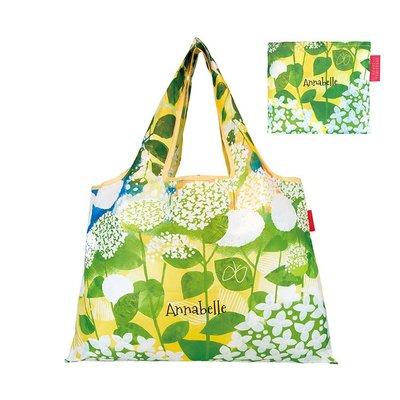 ☘小宅私物☘ 日本 Prairie Dog 設計包 (幸福繡球花) 環保購物袋 摺疊購物袋 環保袋 購物袋 現貨附發票