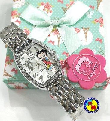 【全新原廠公司貨】【天美鐘錶店家直營】【下殺↘超低價有保固】貝蒂 BT323A-7A 酒樽款鑽錶