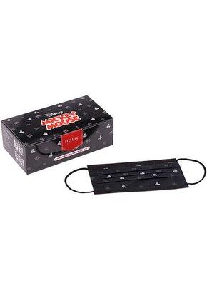 Holic 迪士尼米奇成人平面盒裝口罩(萊潔製造限量現貨台灣製米奇口罩