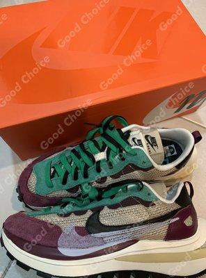 Nike x sacai VaporWaffle 紫色 DD3035-200 現貨 Villain Red