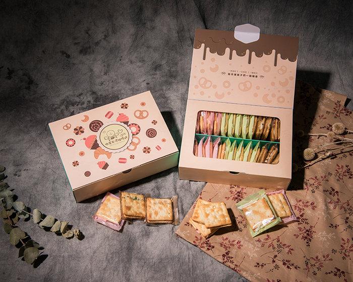 微笑-手工牛軋餅禮盒