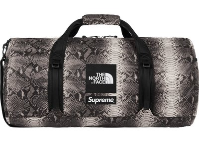 「Rush Kingdom」代購 Supreme The North Face Snakeskin Duffle Bag