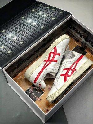 【H-SHOP】Asics tiger 19年新款白紅三井壽復古籃球男女鞋*EU36~47。S90602