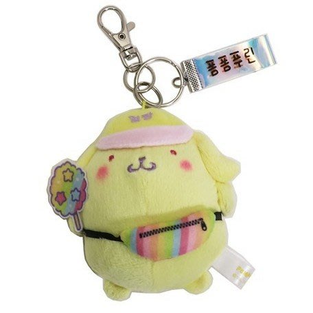 41+現貨免運費 鑰匙圈 布丁狗 日本授權 韓版 絨毛玩偶 吊飾 鑰匙圈 小日尼三
