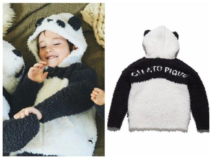 陽光角落~ 保暖軟綿綿熊貓 kids 兒童外套  保暖外套