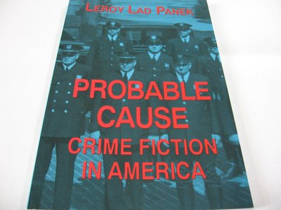 Probable Cause: Crime Fiction in America/ Panek英文書 推理小說評論近全新