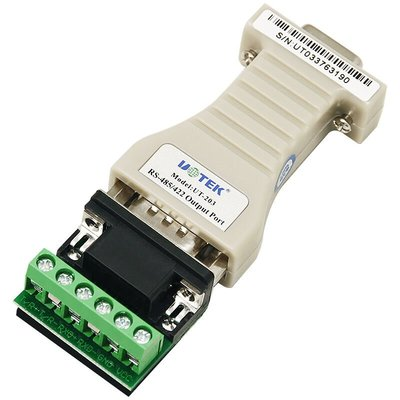 232轉485/422轉換器串口RS232轉RS422協議轉換模塊 UT-203A RS232轉RS422轉換器無源通訊