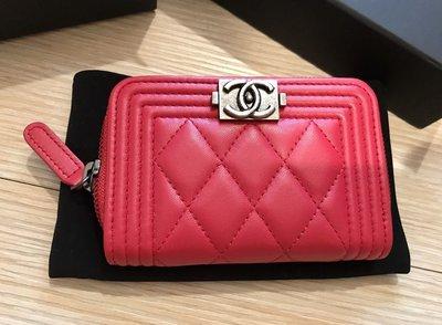 Chanel boy款零錢包 (售出)