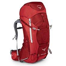【Camphor Outdoor】OSPREY ARIEL AG 65 L PICANTE RED WS backpack 遠足 行山 露營 背囊 背包 登山包