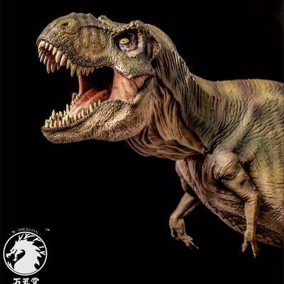 萬蘢堂仿真侏羅紀世界恐龍霸王龍暴龍玩具...