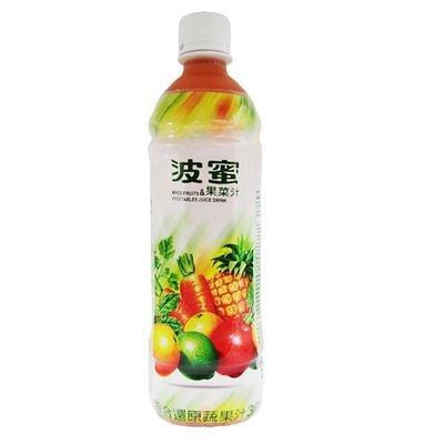 波蜜果菜汁 1箱580mlX24瓶 特價430元 每瓶平均單價17.91元