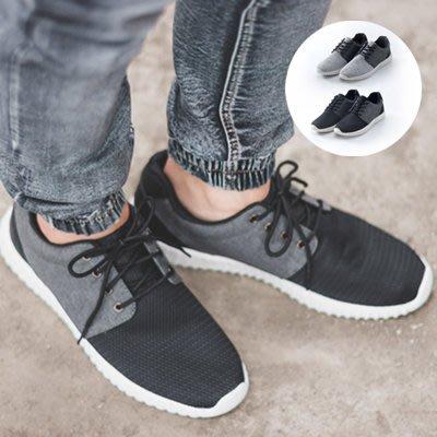 柒零年代【N9902J】網布拼接刀灣輕量休閒運動鞋(KN9304)