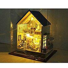 5Cgo【鴿樓】會員有優惠 手工diy小屋浪漫愛琴海終極版房子 模型超大型別墅 情侶聖誕禮物