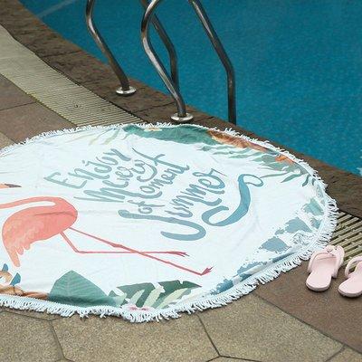 千夢貨鋪-旅行沙灘巾潛水游泳浴巾海灘度...