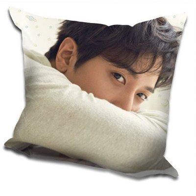 現貨!鄭容和 CNBLUE 【DO DISTURB】 抱枕 枕頭 靠墊,40x40cm,緞紋布,色彩鮮豔,印製精美。A款