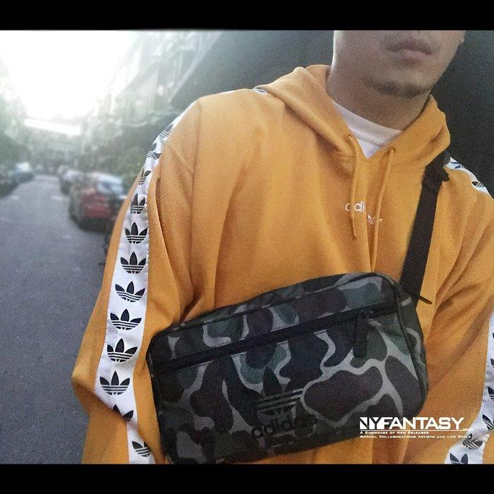 【紐約范特西】adidas Originals Bum Bag BQ6090 迷彩 軍綠 腰包 斜背包 三葉草