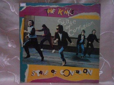【采葳音樂網】-西洋黑膠–THE KINKS〝STATE OF CONFUSION〞1443