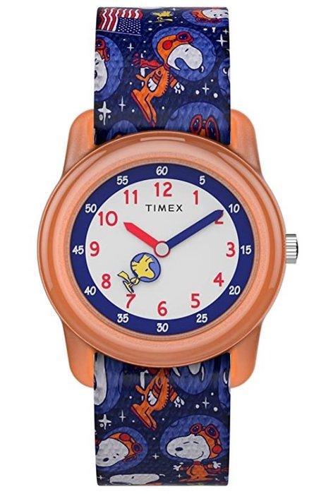 預購 美國帶回 Timex*Peanuts 太空史努比 聯名款手錶 生日禮 粉絲專用
