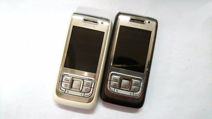 ✩手機寶藏點✩ Nokia E65 3G滑蓋式手機 亞太4G可用 《附電池+旅充或萬用充》 貨到付款 讀A 131