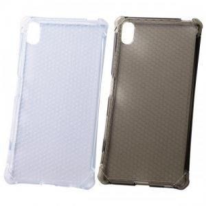 尼德斯Nydus~* 日本正版 Sony Xperia Z5 手機殼 保護殼 透明 TPU軟殼 四角強化設計 附保護貼