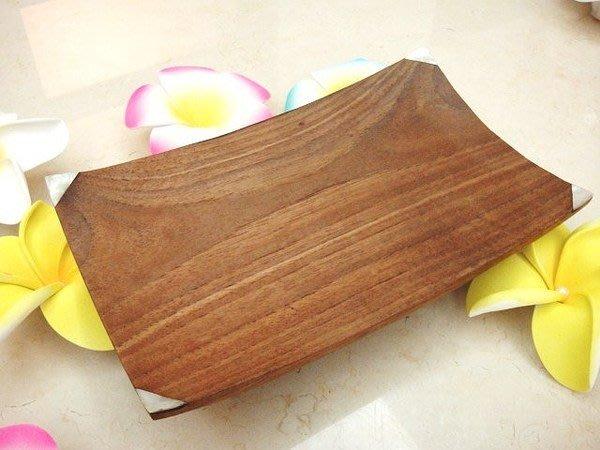 Y【永晴峇里島】巴里島木製鑲貝殼盤,增添異國風味,居家,民宿,飯店都好用-盤10