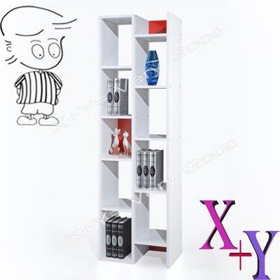【X+Y時尚精品傢俱】DIY書桌書櫥系列-2*6尺紅白色機能櫃.書櫃-須自行組裝.尺寸多樣選擇