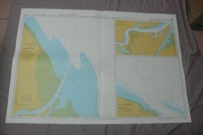 藍色小館46-DEPTHS IN METRES航海圖-PORTS ON THE NORTH EAST COAST OF