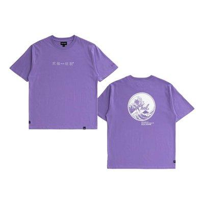 NEW ARRIVAL 19 GREAT WAVE TEE II 綠/紫