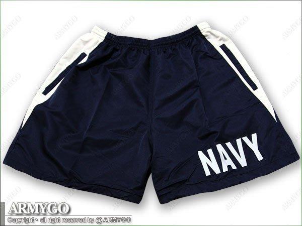 【ARMYGO】海軍現役深藍色短褲