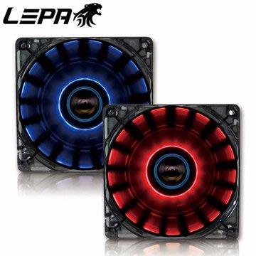 ~協明~ LEPA 120mm CHOPPER 360度環旋LED燈12公分風扇 /  LPCP12N-R /  紅 台中市