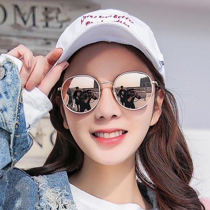 2018新款墨鏡女圓臉正韓潮偏光太陽眼鏡ins防紫外線眼睛
