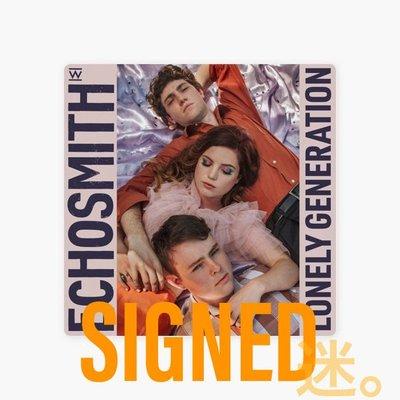 迷俱樂部 Lonely Generation 簽名專輯 [CD] Echosmith 官方親筆簽名 SIGNED 西洋