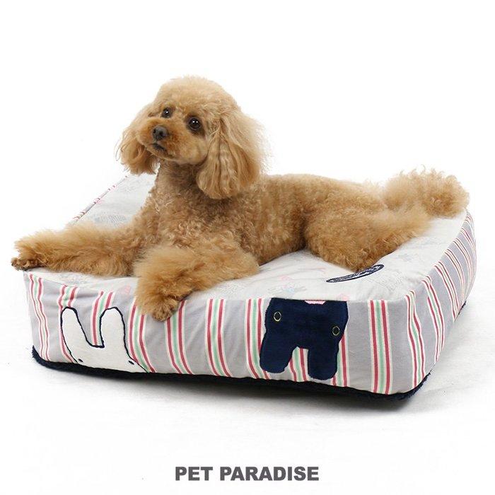 貝果貝果 日本 pet paradise  代理 Gaspard  翻轉小頭可拆式睡墊     [H873]