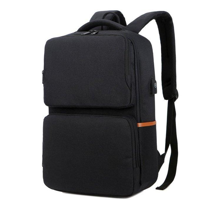 (W.I.B)WB1207BK 黑色 15.6吋 摩登學院電腦背包