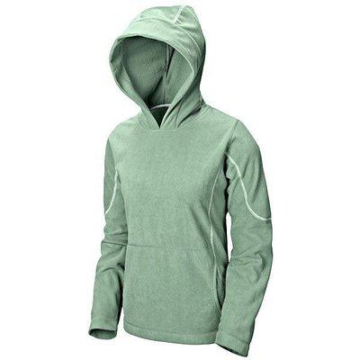 加拿大...Sierra Designs~女刷毛連帽保暖套頭衫...(#32625)