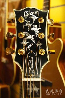 《民風樂府》Gibson Custom Shop - Doves in Flight 全球特製限量版