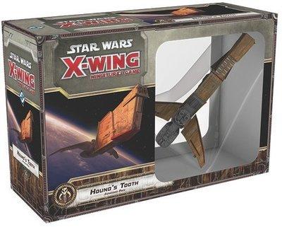 大安殿實體店面 Star Wars X-Wing Hounds Tooth (SWX31) 正版益智桌上遊戲