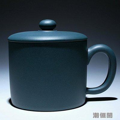 【一砂一礫】特價宜興正品全手工紫砂杯壺茶杯 民國綠老板杯