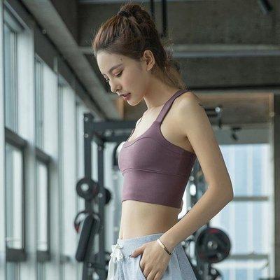 店長嚴選運動內衣女美背健身瑜伽背心式聚攏防震定型跑步bra文胸