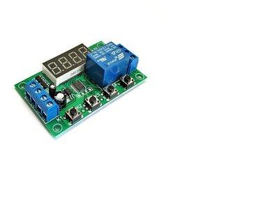 32種模式 延時開關 DC 5V, 12V ,24V (三款) 控制110V 220V 定時器 計時器 繼電器模組