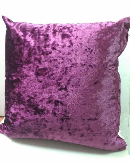 ☆°萊亞生活館 ~ 寢具【A474高級絨布靠枕-47*47公分-紫紅色】靠墊-抱枕-台灣製造