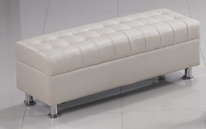 FA188-4庫倫120米白皮沙發椅凳/大台北區/家具/餐桌椅/衣櫃/系統家具/沙發/床墊/茶几/高低櫃/1元起