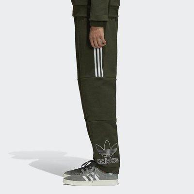 adidas Originals 男款刺繡LOGO 休閒長褲 DH5792